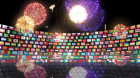 World Flags 3RSbh CG動画