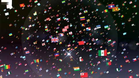 World Flags 3SRbb CG動画