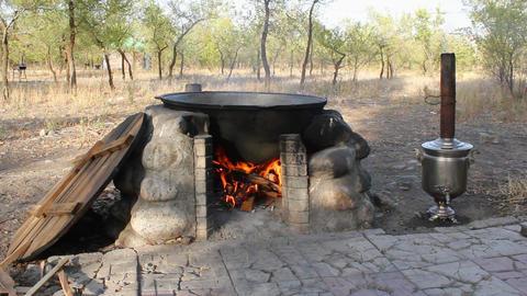 Cauldron-1 Stock Video Footage