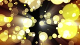 Glitter Gold Light. Loop. stock footage