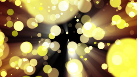 Glitter gold light. Loop Animation