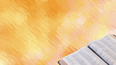 Bible with Motion Background Animation