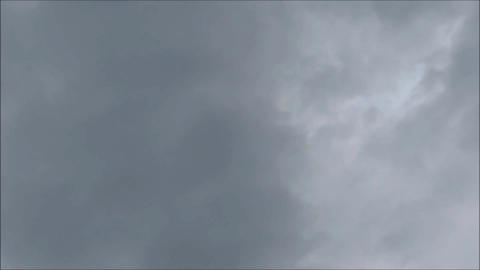 Black Clouds Time Lapse stock footage