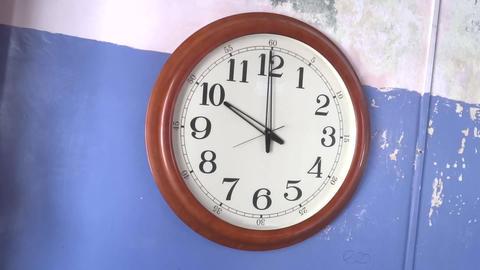 Time 10 O clock Footage