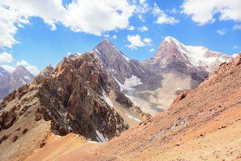 Peak Energy and Chimtarga. Time Lapse. Fans, Tajik Footage