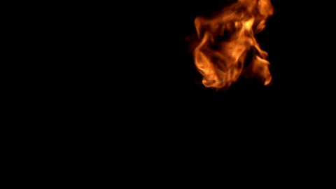 Flame in Motion Footage