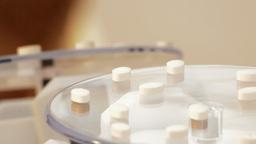 Medicall pills rotating Footage