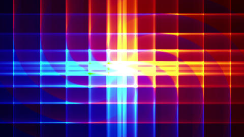 4K Prismatic spiral grid abstract background c4 Animation