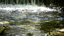 Pure Water In Mountain stock footage