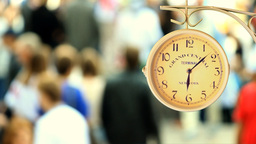 Urban Clock stock footage