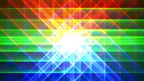 4K Prismatic grid star abstract background loop a3 Animation