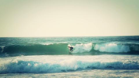 Surfers enjoying the wave seawater sport surfing Footage