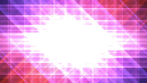 4K Prismatic grid star abstract background pink 2 Animation