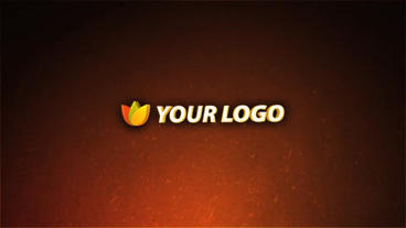 Sparks Logo Reveal After Effects Template
