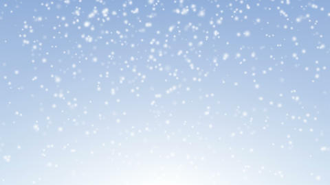 Snow Falling 4K stock footage