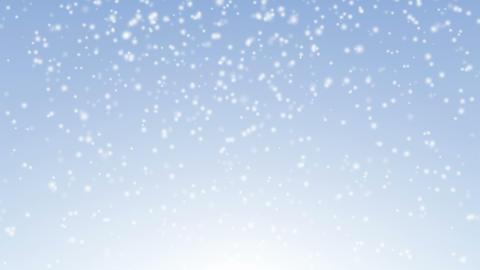 Snow falling 4K Animation