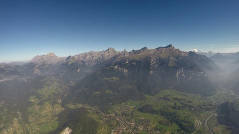 360°+ Alps Aerial View - 2500m Footage