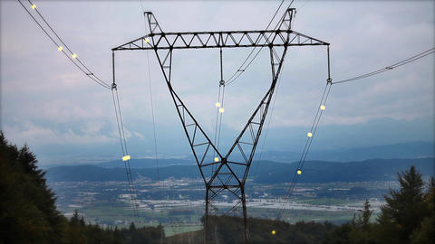 Electricity stock footage
