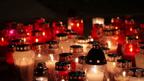 Dolly Candles Of Death stock footage