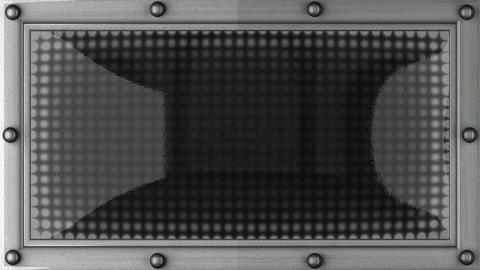 Count Down Announcement On The LED Display stock footage
