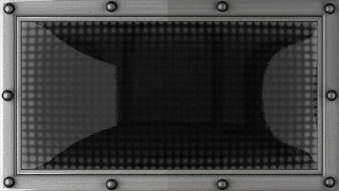 contact announcement on the LED display Stock Video Footage