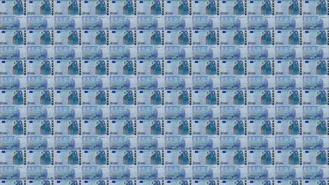 20 Euros Wall 02 Animation