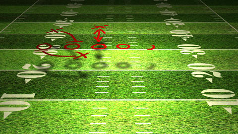 American Football Tactics 01 Animation