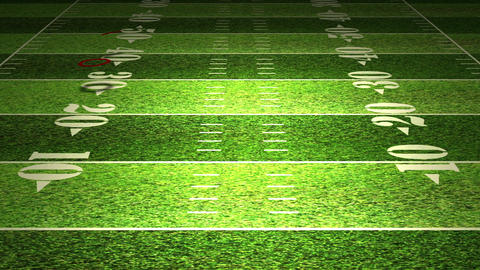 American Football Tactics 03 Stock Video Footage
