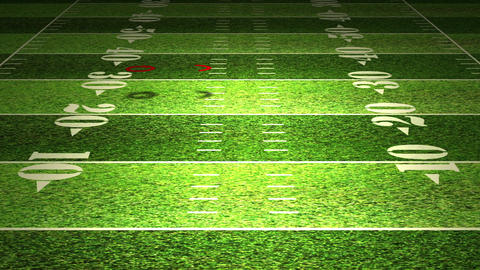 American Football Tactics 05 Stock Video Footage