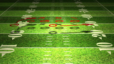 American Football Tactics 05 Animation