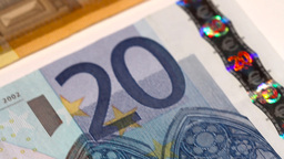 Euro Banknotes 03 Dolly Footage