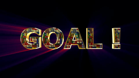 goal compilation Stock Video Footage