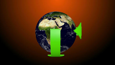 Recycle Earth 08 Stock Video Footage
