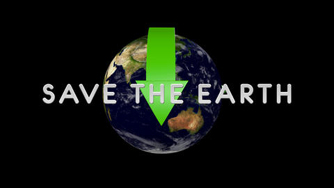Save The Earth 01 alpha Animation