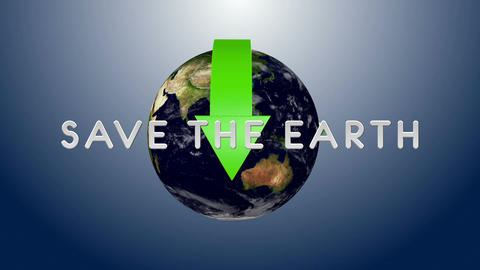 Save The Earth 03 Stock Video Footage