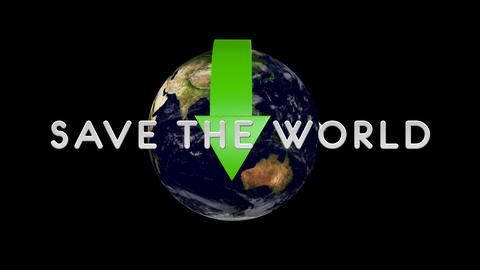 Save The World 01 alpha Animation
