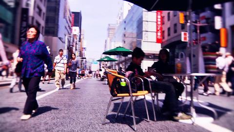 japanese streets Footage