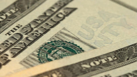 american dollars Stock Video Footage