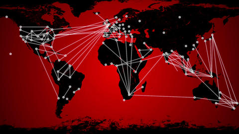 Worldwide Network Connections v3 02 Animation