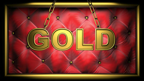 gold Stock Video Footage