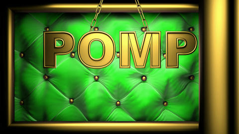 pomp Stock Video Footage