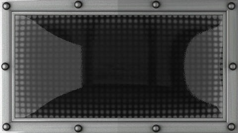 peace announcement on the LED display Animation