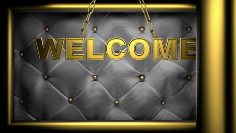 welcome Stock Video Footage
