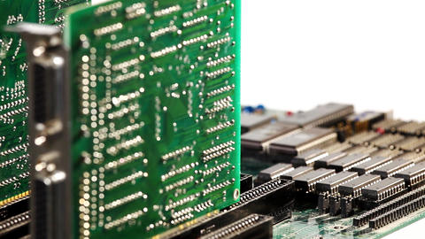 motherboard Stock Video Footage