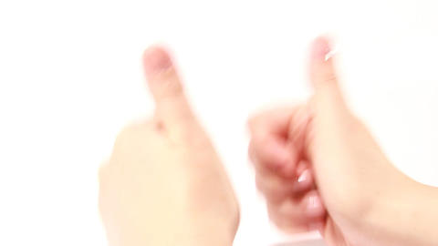 hand gestures Stock Video Footage