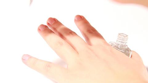 nail varnish Footage