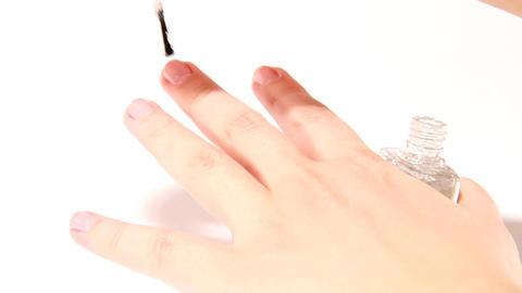 nail varnish Stock Video Footage