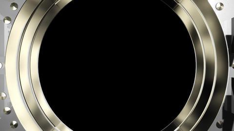 Vault door open Stock Video Footage