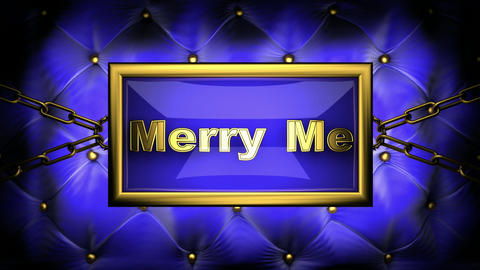 merry me Animation