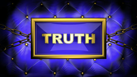 truth Stock Video Footage